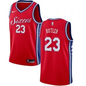 Nike Maillot De Basket Jimmy Butler Philadelphia 76ers Rouge No.23 Homme Statement Edition