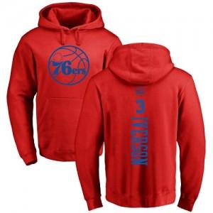 Hoodie De Basket Allen Iverson Philadelphia 76ers Nike Pullover Homme & Enfant #3 Rouge One Color Backer