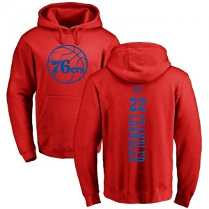 Hoodie De Wilson Chandler 76ers Homme & Enfant Pullover Nike Rouge One Color Backer #22