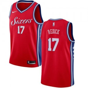 Nike Maillot De Basket Redick Philadelphia 76ers Statement Edition Enfant Rouge No.17