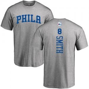 T-Shirts Smith Philadelphia 76ers Nike No.8 Homme & Enfant Ash Backer