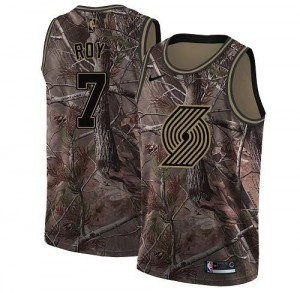 Maillot De Basket Brandon Roy Portland Trail Blazers Enfant #7 Nike Realtree Collection Camouflage