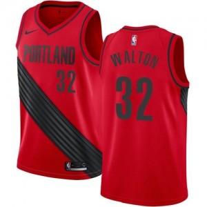 Maillot Basket Walton Portland Trail Blazers Statement Edition Nike Enfant #32 Rouge