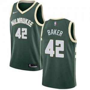 Maillots Basket Baker Bucks Icon Edition No.42 Homme Nike vert