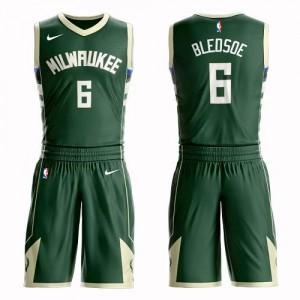 Nike NBA Maillots De Basket Bledsoe Milwaukee Bucks Suit Icon Edition Homme #6 vert