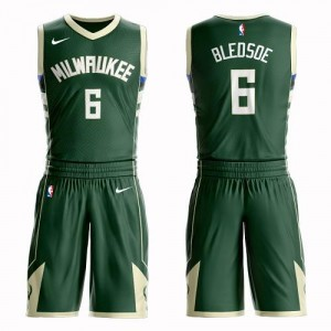 Nike NBA Maillot De Bledsoe Milwaukee Bucks Enfant vert #6 Suit Icon Edition