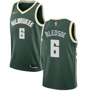 Nike Maillots De Basket Eric Bledsoe Bucks #6 Icon Edition vert Homme