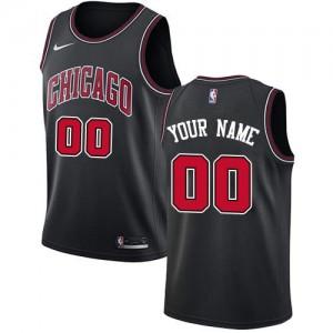 Nike NBA Personnalisé Maillot De Basket Bulls Noir Statement Edition Enfant