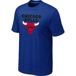 Tee-Shirt De Basket Chicago Bulls Big & Tall Short Sleeve Bleu Homme