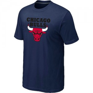 T-Shirt De Chicago Bulls Big & Tall Short Sleeve Homme bleu marine