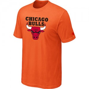 T-Shirt Bulls Homme Big & Tall Short Sleeve Orange