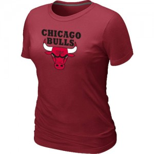 NBA T-Shirt De Basket Bulls Femme Big & Tall Primary Logo Rouge
