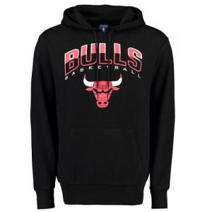 NBA Sweat à capuche Basket Bulls UNK Ballout Pullover Homme Noir