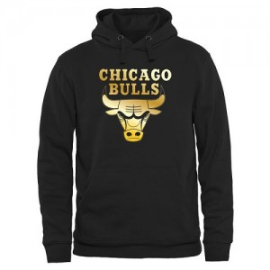 Sweat à capuche De Bulls Gold Collection Pullover Noir Homme