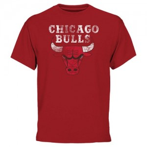 Tee-Shirt Chicago Bulls Rouge Homme Big & Tall Team