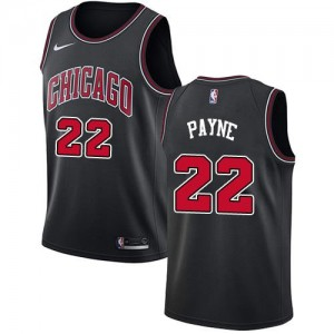 Maillot Basket Payne Chicago Bulls Noir No.22 Nike Homme Statement Edition