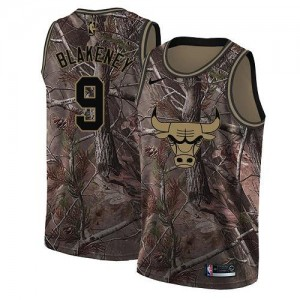 Nike Maillots Blakeney Chicago Bulls Realtree Collection Enfant #9 Camouflage