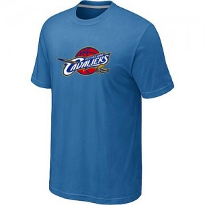 Tee-Shirt De Basket Cavaliers Bleu clair Homme Big & Tall Primary Logo