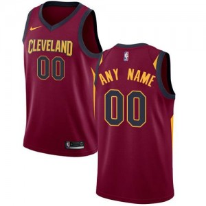 Nike Maillot Personnalise Cavaliers Marron Homme Icon Edition