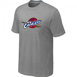 NBA Tee-Shirt Cleveland Cavaliers Homme Big & Tall Primary Logo Gris
