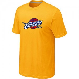 Tee-Shirt Cavaliers Big & Tall Primary Logo Homme Jaune