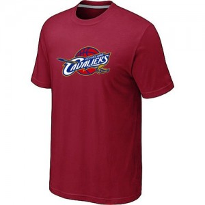T-Shirt De Cleveland Cavaliers Homme Big & Tall Primary Logo Rouge
