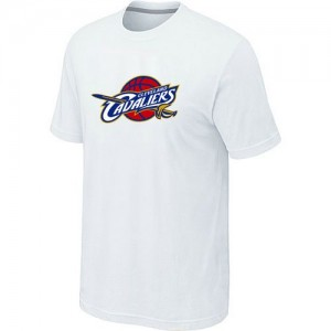 T-Shirt Cleveland Cavaliers Big & Tall Primary Logo Blanc Homme