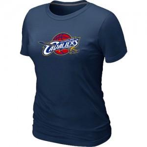 Tee-Shirt De Cleveland Cavaliers Femme Big & Tall Primary Logo bleu marine
