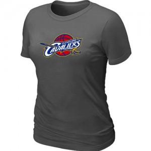 T-Shirt Cleveland Cavaliers Gris foncé Femme Big & Tall Primary Logo