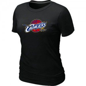 NBA Tee-Shirt De Basket Cleveland Cavaliers Noir Femme Big & Tall Primary Logo