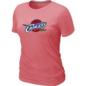 NBA T-Shirt Basket Cavaliers Rose Big & Tall Primary Logo Femme