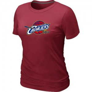 NBA Tee-Shirt De Basket Cavaliers Femme Rouge Big & Tall Primary Logo