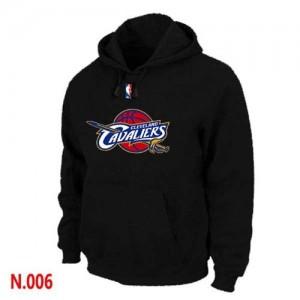 Hoodie Basket Cleveland Cavaliers Noir Pullover Homme