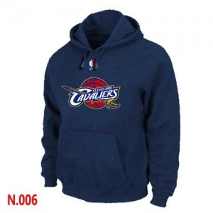 Hoodie De Basket Cavaliers Homme bleu marine Pullover