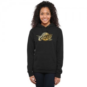 Sweat à capuche Basket Cavaliers Men's Gold Collection Ladies Pullover Noir Femme