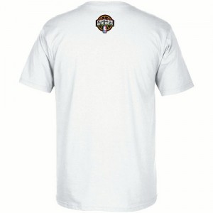 Adidas NBA T-Shirt De Cleveland Cavaliers Blanc Homme Noches Ene-Be-A