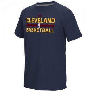 Adidas NBA Tee-Shirt Basket Cavaliers On-Court Climalite Ultimate Homme bleu marine