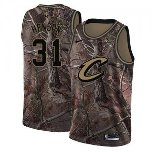 Maillots Henson Cleveland Cavaliers Homme Realtree Collection #31 Nike Camouflage
