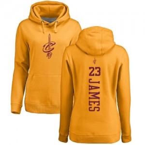 Hoodie De Basket James Cleveland Cavaliers Nike No.23 Pullover or One Color Backer Homme & Enfant