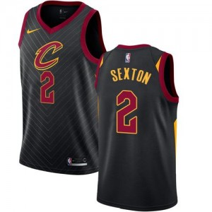 Nike Maillot Basket Collin Sexton Cavaliers Statement Edition Noir Homme No.2