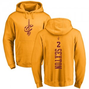 Nike Sweat à capuche De Basket Collin Sexton Cavaliers #2 or One Color Backer Pullover Homme & Enfant
