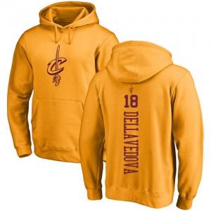 Hoodie De Basket Dellavedova Cavaliers No.18 Homme & Enfant Pullover Nike or One Color Backer