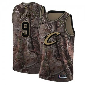 Maillot De Frye Cavaliers #9 Nike Homme Camouflage Realtree Collection