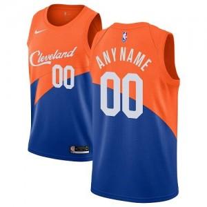 Nike NBA Personnalisé Maillot De Basket Cavaliers City Edition Homme Bleu