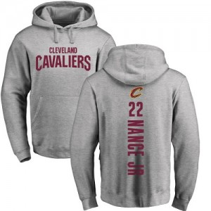 Nike Sweat à capuche De Basket Nance Jr. Cavaliers Pullover #22 Ash Backer Homme & Enfant