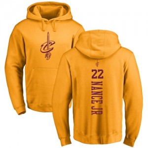 Nike NBA Sweat à capuche Basket Larry Nance Jr. Cavaliers or One Color Backer Pullover Homme & Enfant #22