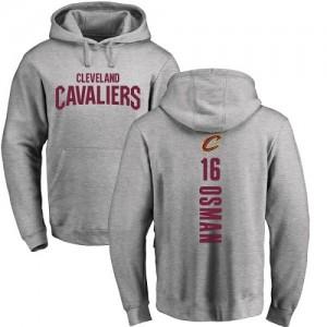 Hoodie De Basket Osman Cleveland Cavaliers Homme & Enfant #16 Nike Pullover Ash Backer