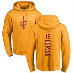 Nike Sweat à capuche Cedi Osman Cavaliers Pullover #16 Homme & Enfant or One Color Backer
