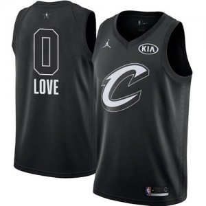 Jordan Brand Maillots De Love Cavaliers #0 2018 All-Star Game Enfant Noir