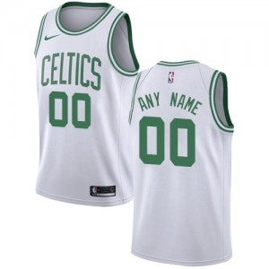 Nike Personnalisé Maillot De Boston Celtics Homme Blanc Association Edition